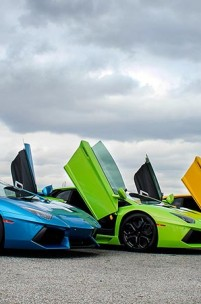 Uma paixão chamada Lamborghini