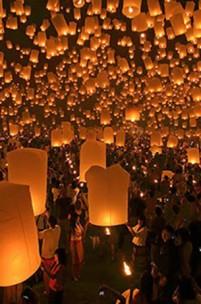 Yi Peng, o festival das luzes e dos desejos
