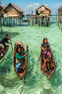 Os Bajau: A tribo do mar